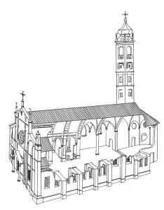 chiesa parrocchiale prospetto