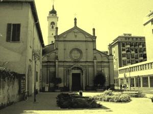 chiesa parrocchiale old photo