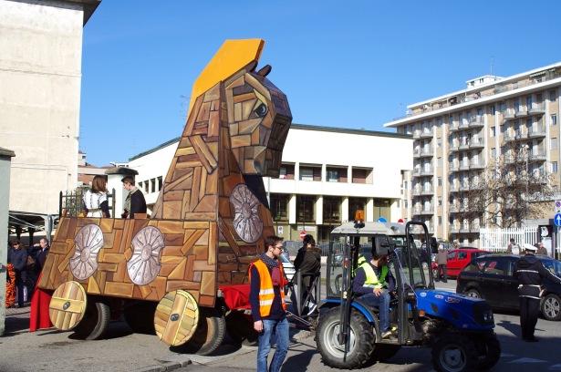 """Il carro di Carnevale di """"Odissea"""" (edizione 2015)"""