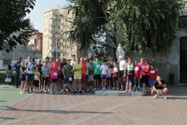 """La partenza della corsa """"2° Memorial Montani"""""""