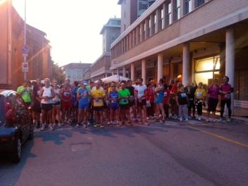 I partecipanti alla corsa 5km non competitiva