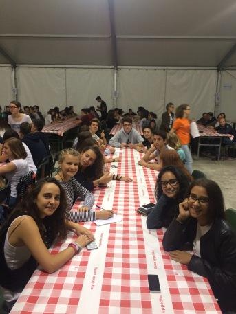 Cena dei giovani - Gruppo '99
