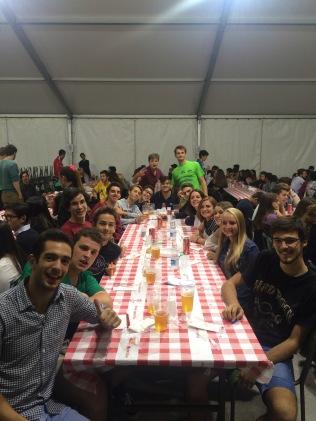 Cena dei giovani - Gruppo '98