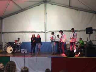 Un'esibizione del San Martino's Got Talent