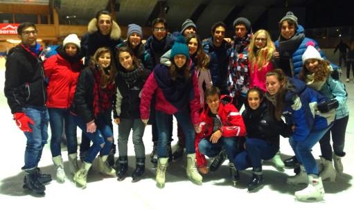campo invernale bormio 2014 pattinaggio
