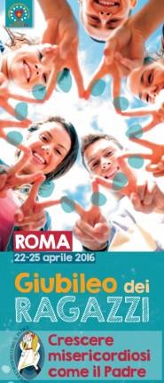 giubileo ragazzi roma banner