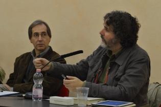 A sx Don Pier Davide Guenzi; a dx il Dott. Dotti
