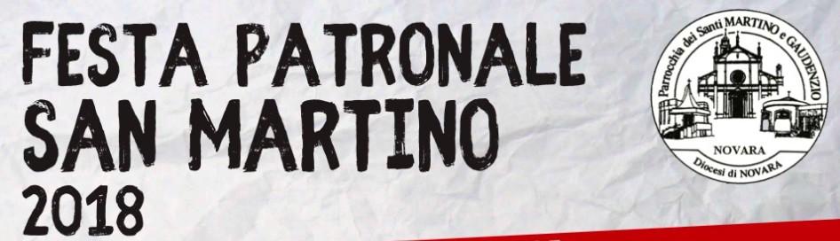 festa patronale san martino 2018 banner