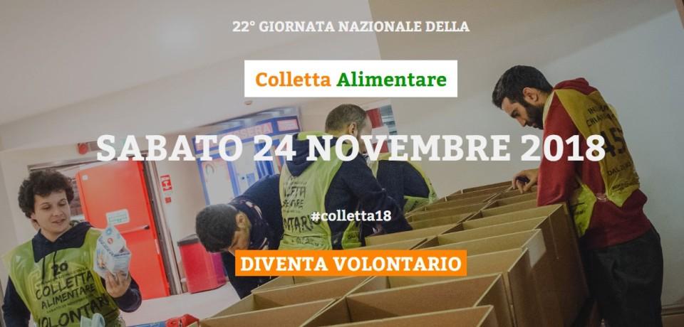 banner colletta alimentare 2018