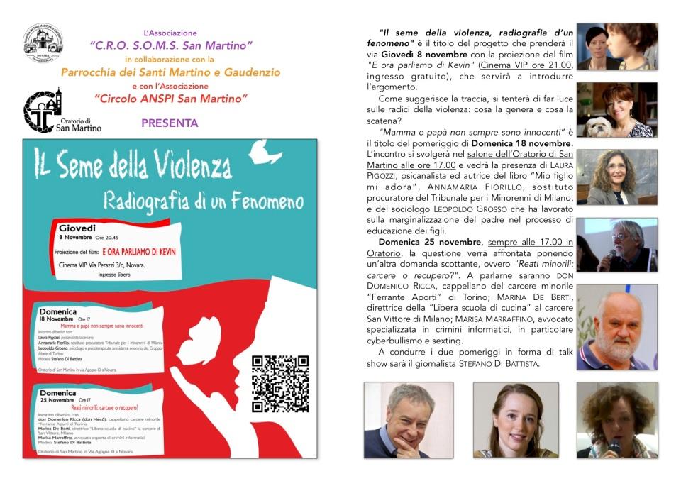 brochure progetto seme violenza 2018