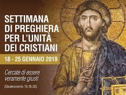 settimana preghiera unità cristiani 2019
