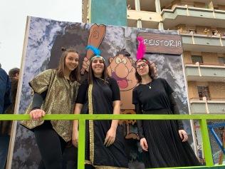 """Il carro di Carnevale 2019 """"Fuga dal tempo"""""""