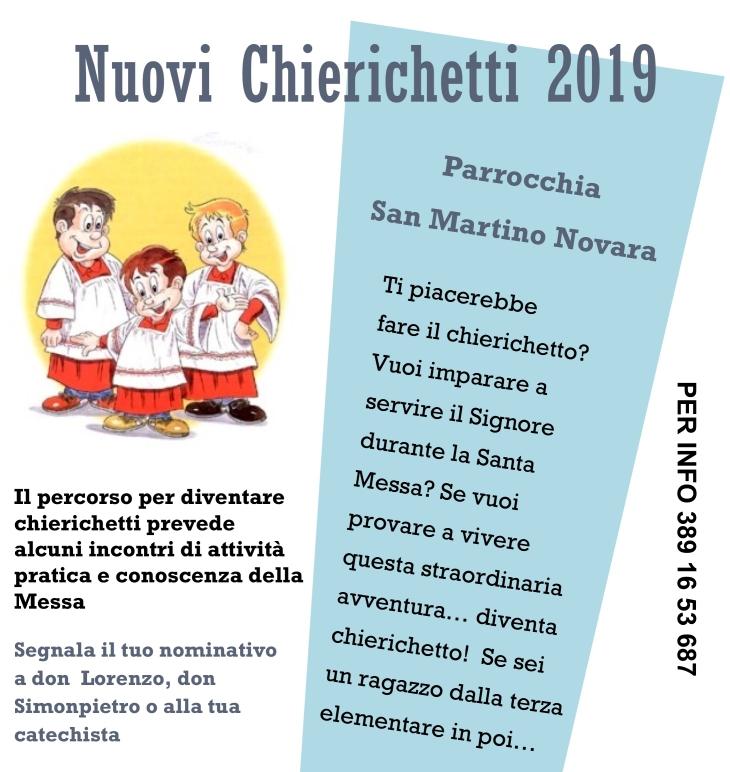 volantino chierichetti 2019