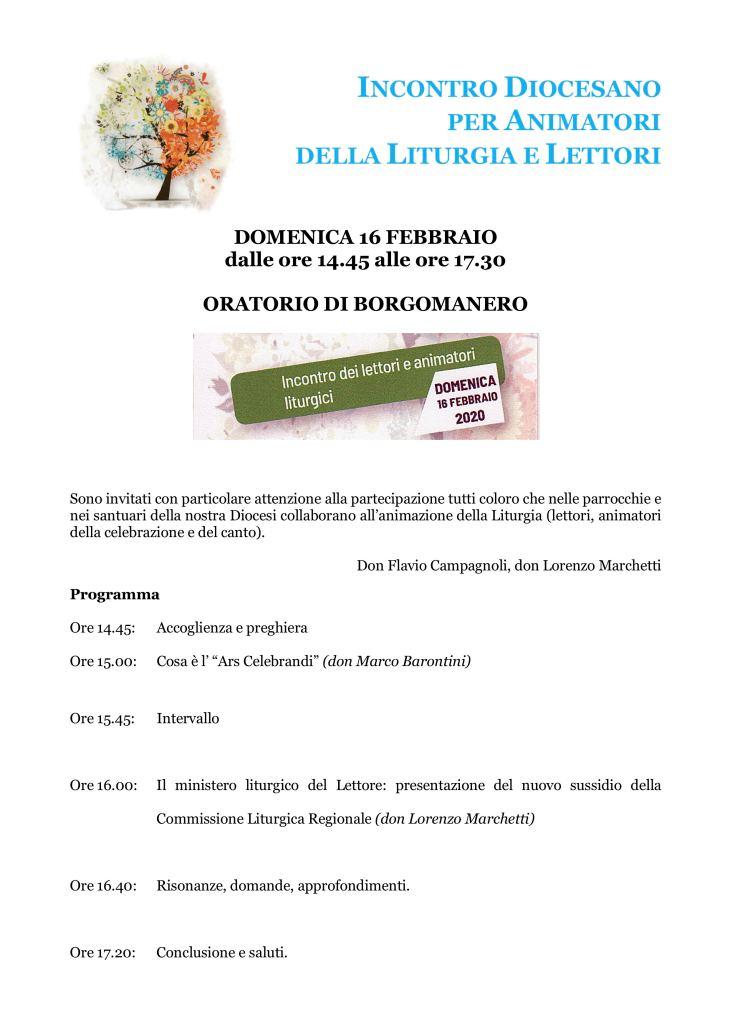 200216 incontro diocesano animatori liturgia lettori borgomanero