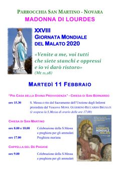 manifesto madonna lourdes gm malato 2020