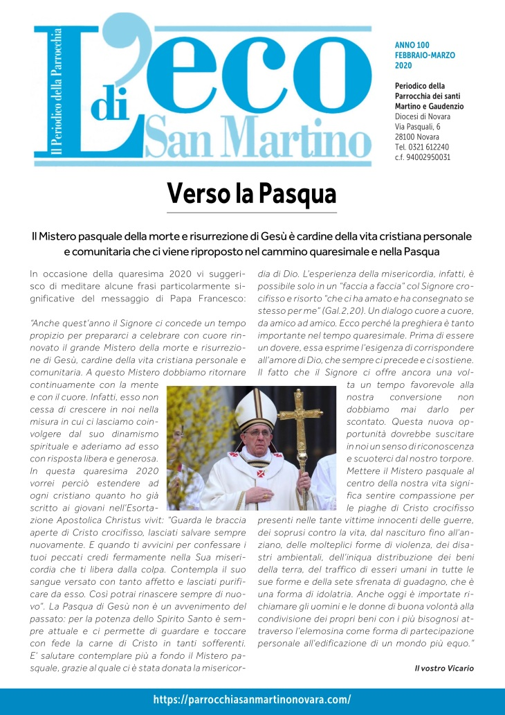 Eco San Martino febbraio - marzo 2020