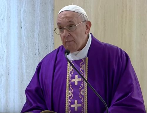 papa francesco omelia messa quotidiana