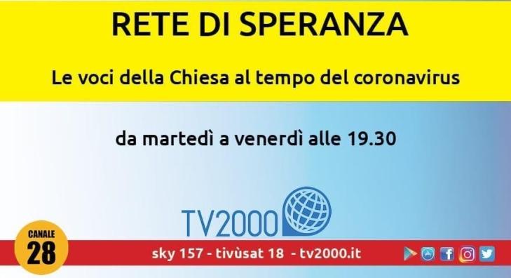 banner rete di speranza tv2000