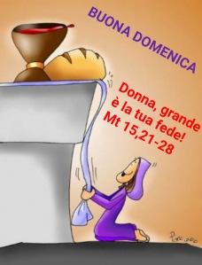 XX Domenica Tempo Ordinario (A)